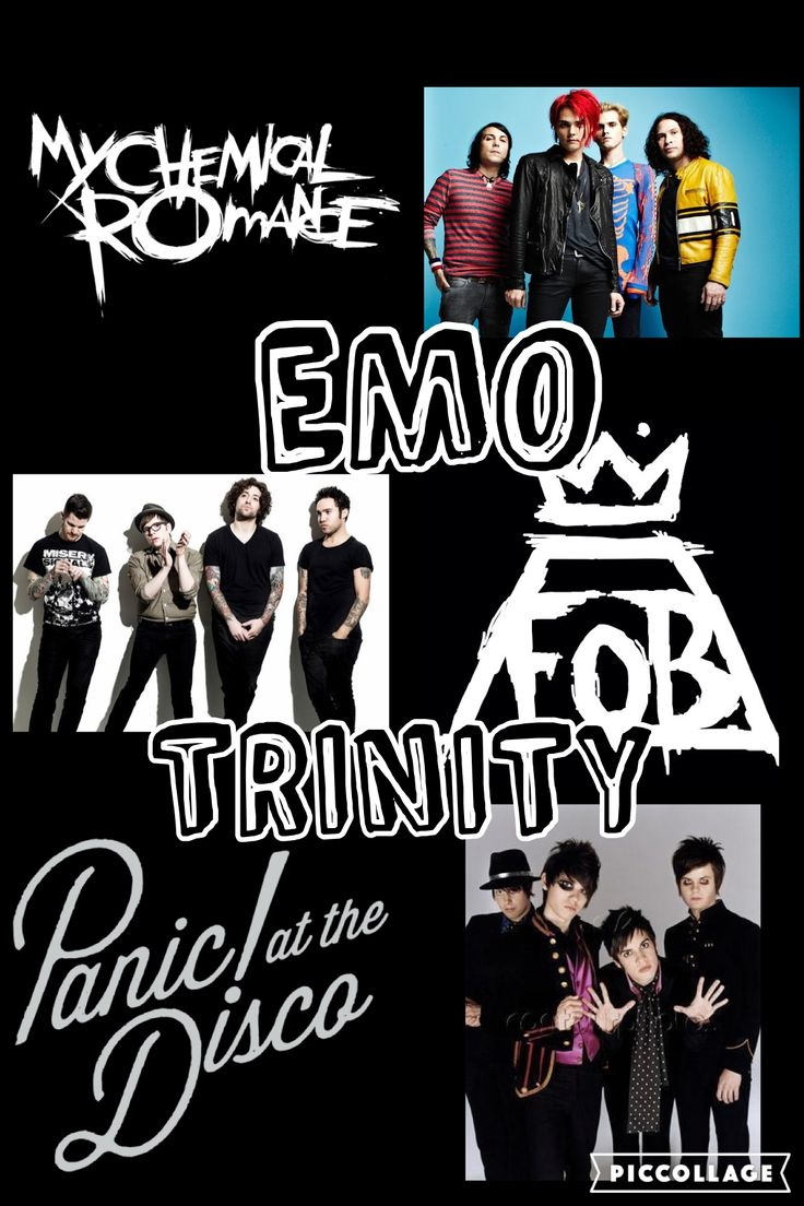 Aesthetic Computer Wallpaper Fall Out Boy Emo Trinity Music Emo Bands Emo Style Band