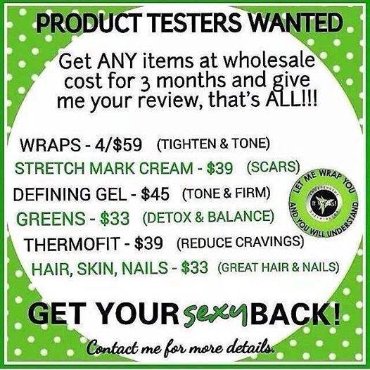 http://juliannlee.myitworks.com/ just ask how! Get a kick start on your New Year's Resolution!