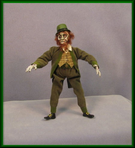 It's and Zombie Leprechaun and he loves Irish Brains!