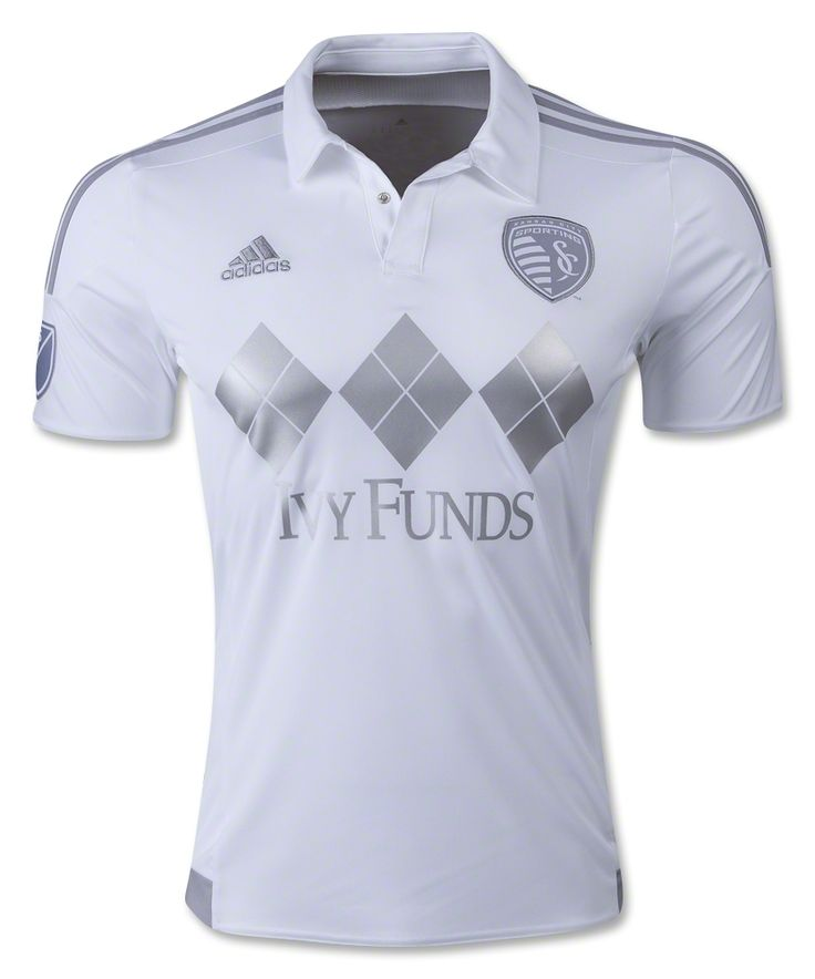 huge selection of 14551 916f0 2015 16 sporting kansas city blank home soccer shirt kit