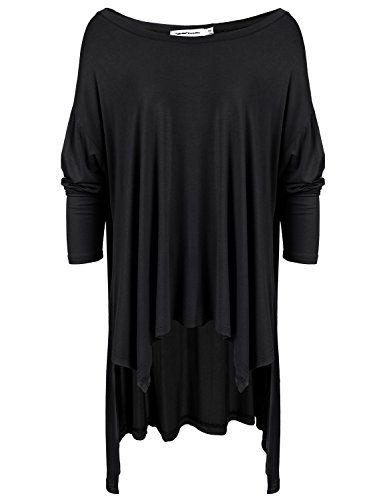 BOYLYMIA Women's Extra Long Flowy Elbow Sleeve Jersey Tunic T-Shirt for Women(Black) BOYLYMIA http://www.amazon.com/dp/B01AHZ4SVE/ref=cm_sw_r_pi_dp_RWUOwb0Y1HXN9