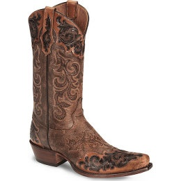 Tony Lama Signature Series Bourbon Wingtip Boot-Snip...SWEET!!!!!