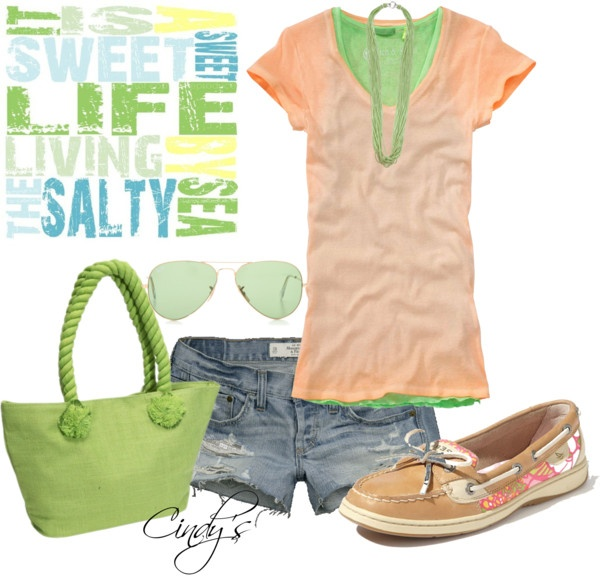 """""""is a Sweet Sweet Life Living by the Salty Sea..."""" by cindycook10 on Polyvore"""
