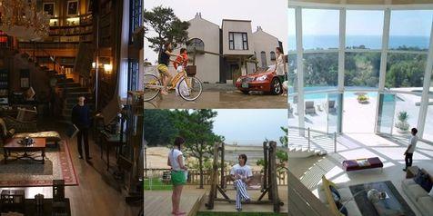 KapanLagi.com: Kim Soo Hyun | Berbagai Rumah Indah Yang Hanya Ada di Drama Korea.   www.venzakebaya.net   https://www.facebook.com/venzakebaya?ref=hl
