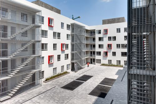 arquitectura 911sc — Urban Housing Project in Iztacalco