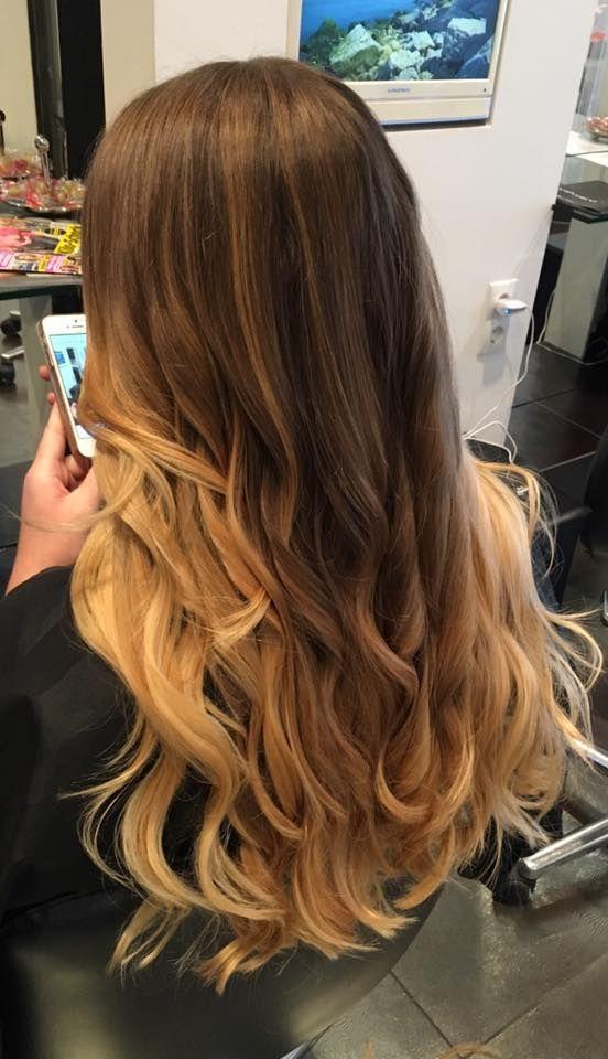 Balayage Kupferblond copperhair Waves perfekt for Autumn