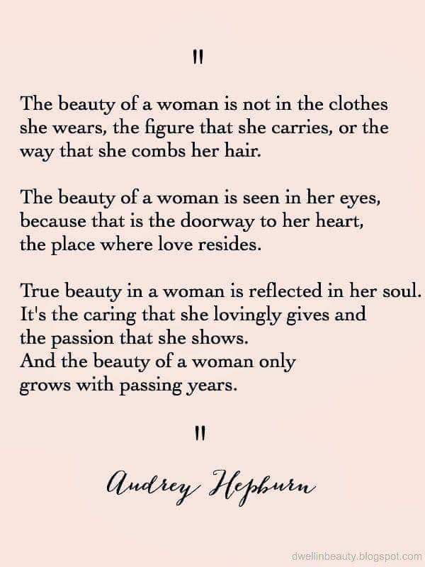 True Beauty Quotes For Her