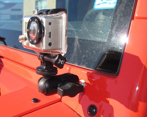 gopro mount for jeep wrangler | ... new way to mount my GoPro camera and my SPOT Connect on the Jeep