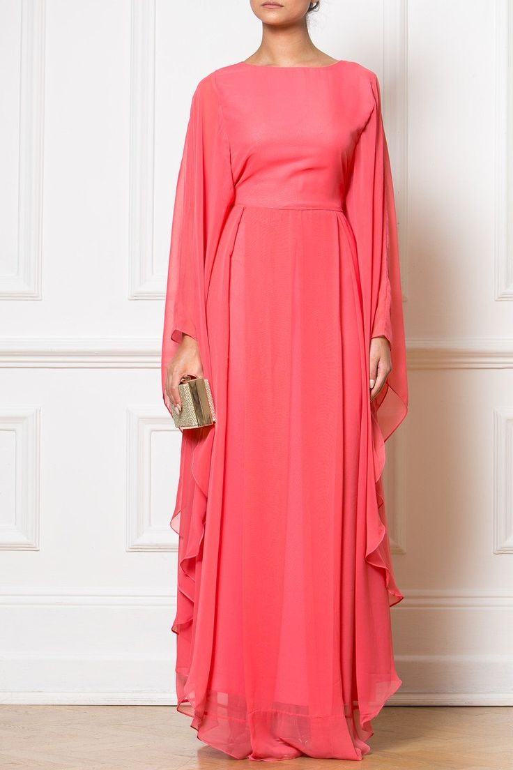 Maxi Coral Gown - Our Maxi Coral Gown is beautiful in its simplicity.