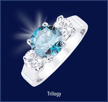 Sophia Fiori Blue Diamond 75