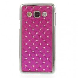 Galaxy A3 hot pink luksus kuoret