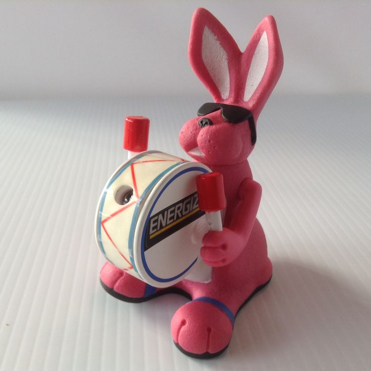 Vintage Energizer Bunny Squeeze Light Toy Advertising 1991 Non Working by afunspottoshop on Etsy