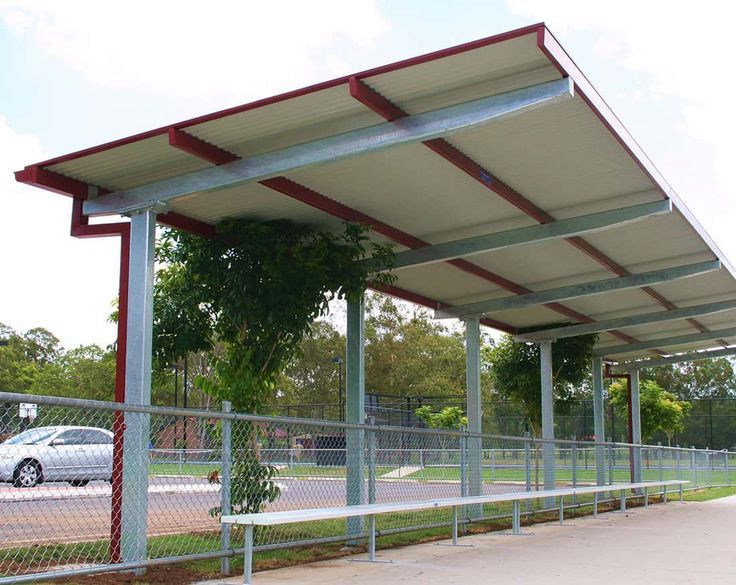 At Steel Post Rail we offer quality outdoor shade structures and shelter solutions for schools councils and public areas. & 37 best Building - Steel Canopy Design images on Pinterest ...