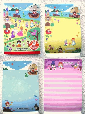 Mind Wave Kawaii Memo Pad Funny Funny Fairy Tales: Kawaii, Memo, Fairy Tales, Letter, Hello Kitty