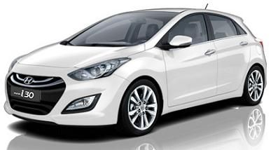 Hyundai i30 Car Leasing Deals, i30 Cheap Contract Hire Rates