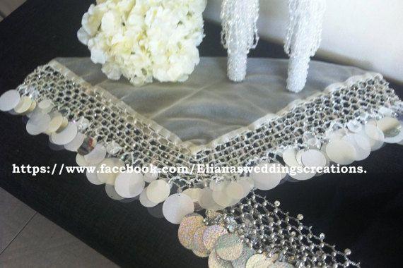 bride yalekhta scarf by yalekhtaandkopala on Etsy