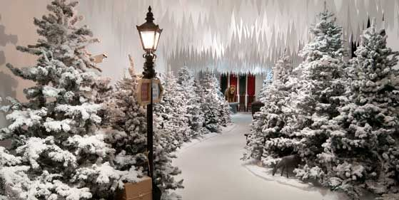 Enchanted Forest Christmas Trees