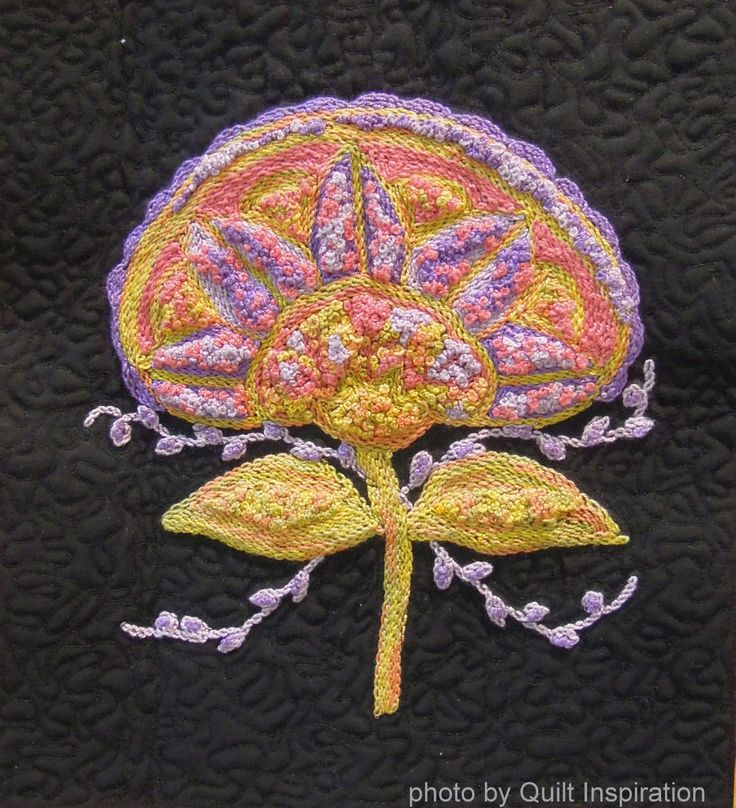 203 Best Images About Embroidery On Quilts On Pinterest
