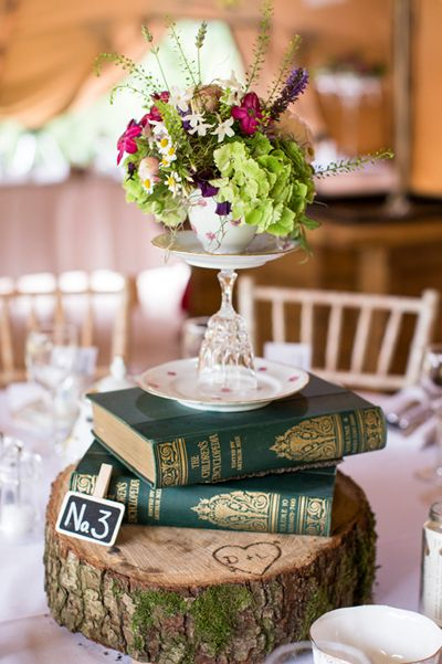 Teacup and Glass Wedding Centrepiece | Vintage Wedding Ideas, Wedding Centrepieces and China Plate Stands for Cakes, Jewellery & other delights.
