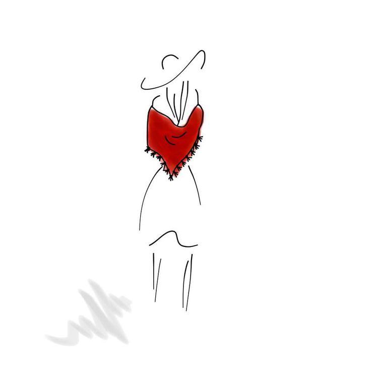 #shawl #lady #sketch #iphonenotes #iphonenotesart #iphonenotesketch #iphonenotesdrawing #lineart #linedrawing #illustration