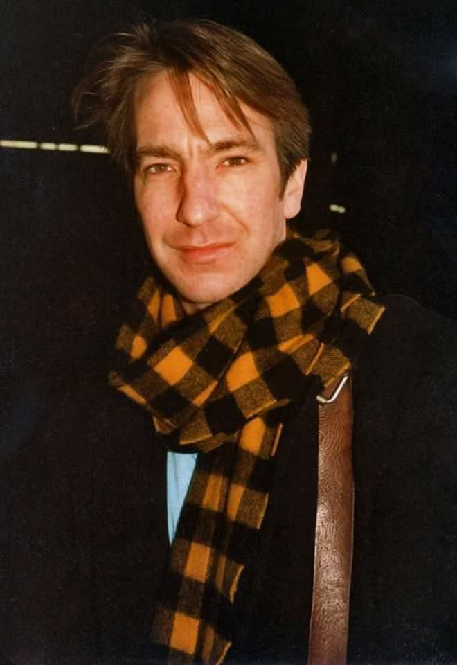 Alan Rickman. Around 1980 ?  ©Russell Henry