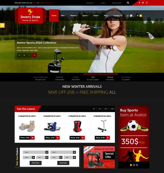 sports shop layout - Szukaj w Google