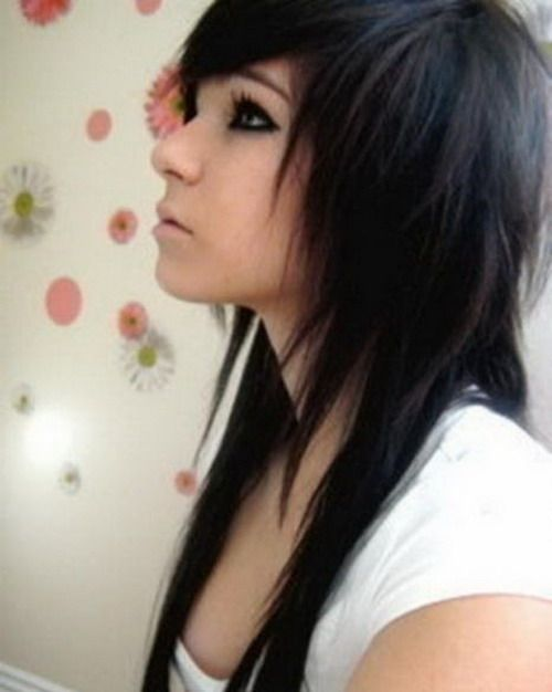 Emo Hairstyles for Girls 2017