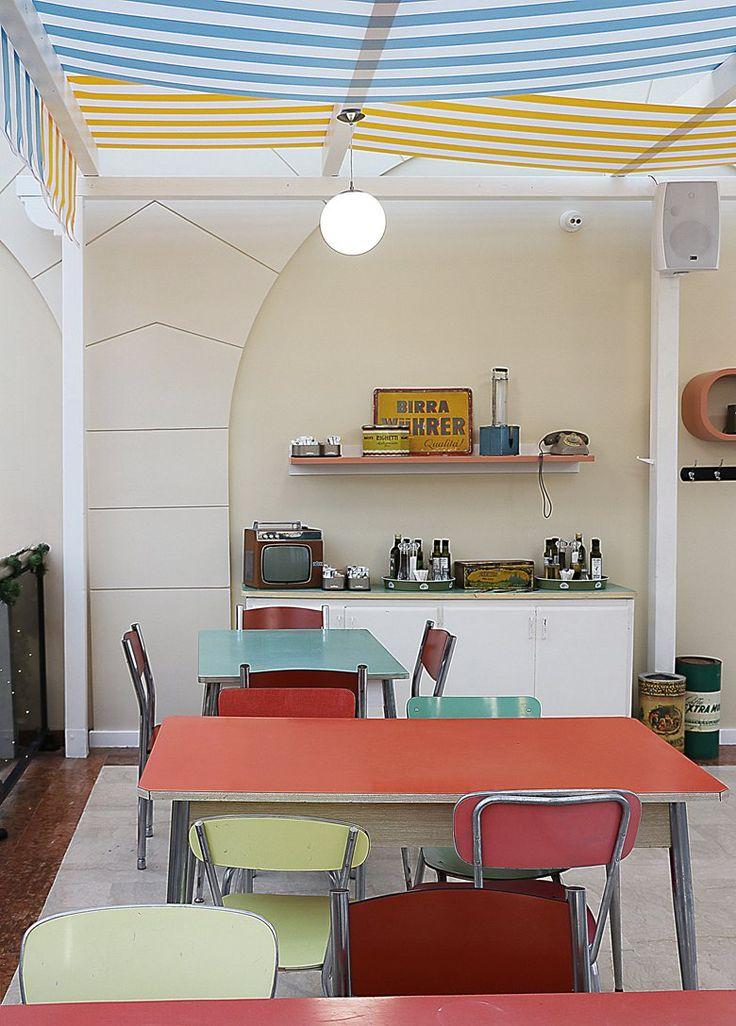 La Cresceria, 2016 - chiara marchionni  #vintage style #tavoli formica #'60 style #'50 style #cresceria #vitage