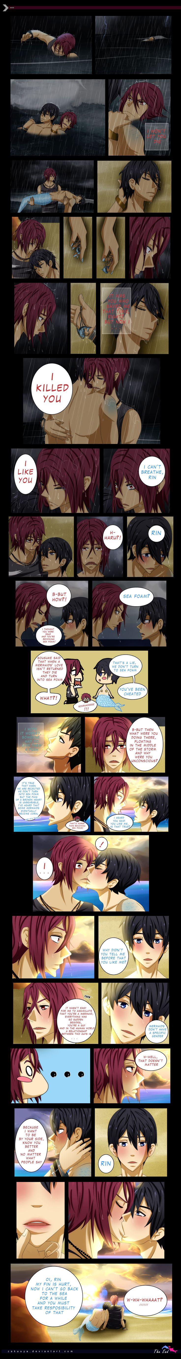 RinHaru: A Mermaid Tale 24 - THE END by Zakuuya.deviantart.com on @DeviantArt