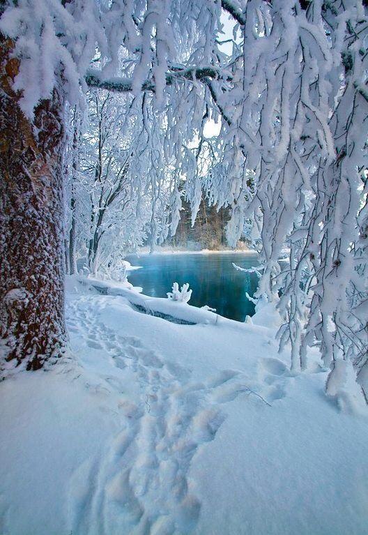 Il lago incantato....