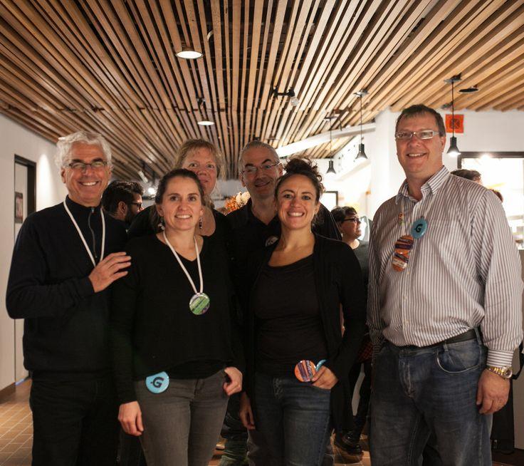 Rivière-du-Loup, le dimanche 13 novembre 2016. Le Technocentre des technologies de l'information et des communications (TCTIC) accompagné de cinq professionnels de la région, a participé à la première édition de Muséomix Bas-Saint-Laurent,