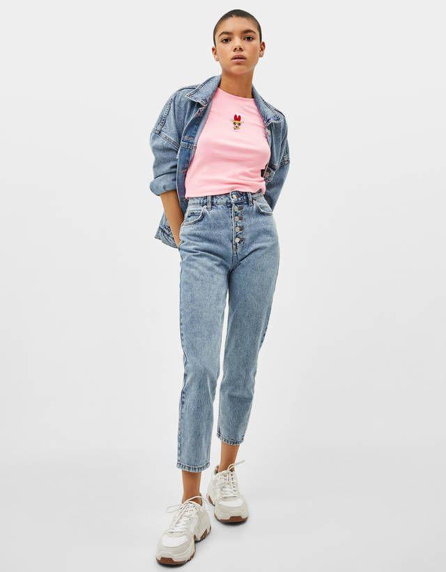 1067ab37 Powerpuff Girls T-shirt - Tees - Bershka United States | o u t f i t ...