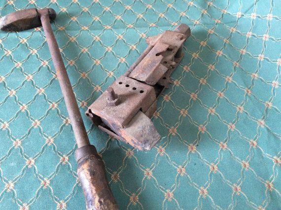 Antique soldering tools French antiques vintage tools zinc