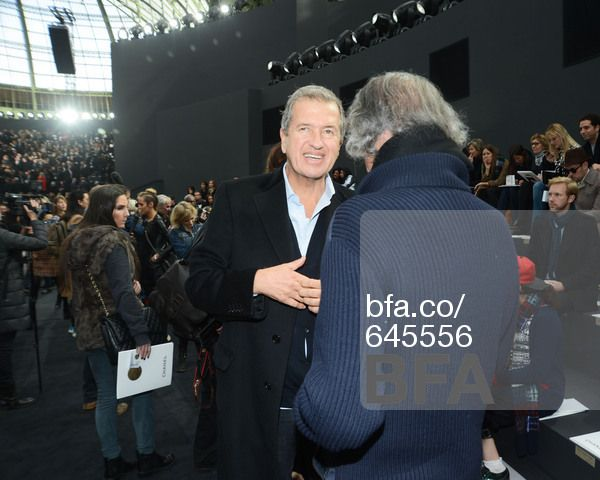 Patrick Demarchelier, Mario Testino at CHANEL FW 2013 - Front of House. #BFAnyc