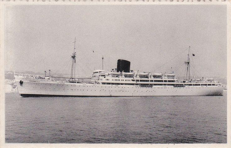 """Paquete """"Moçambique"""", Companhia Nacional de Navegação (Portugal)"""