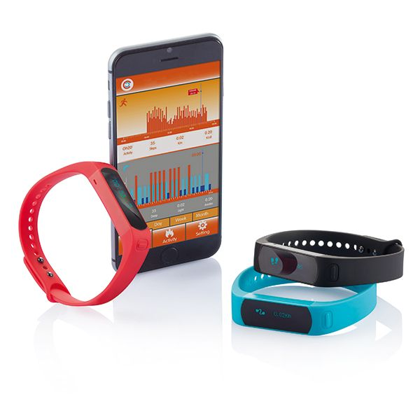 Track your activity, sleep, and calories burned with this activity tracker. Get insights into your achievements and set new goals with the free APP. Compatible with both iOS (iPhone 4S and up) and Android 4.3. This activity tracker is the next step towards a healthier life style!