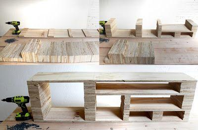 DIY : fabriquer un meuble TV