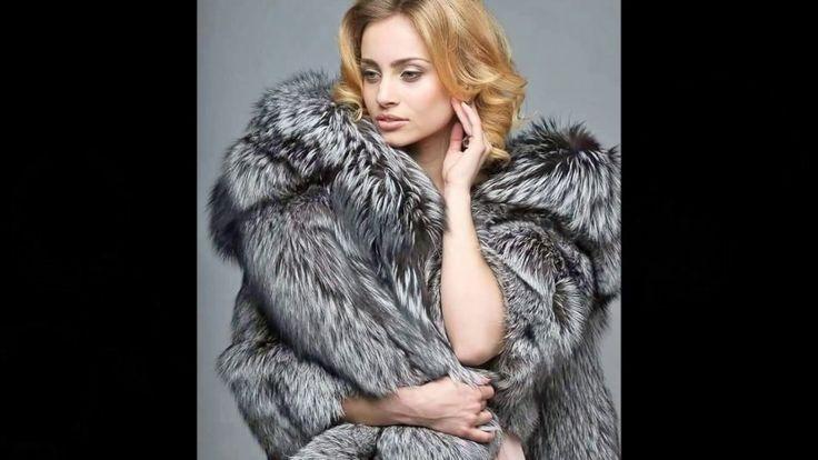 Woman In Silver Fox Fur Part 11