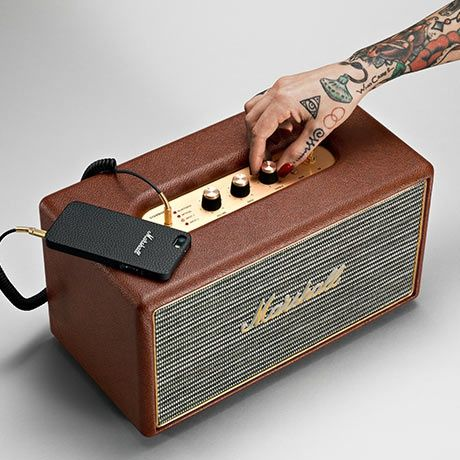 Stanmore Speaker by Marshall Headphones | MONOQI #bestofdesign