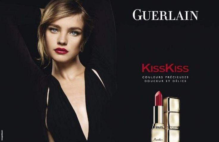 Guerlain - Natalia Vodianova - 2010SS - makeup ad campaign -  fashion ads