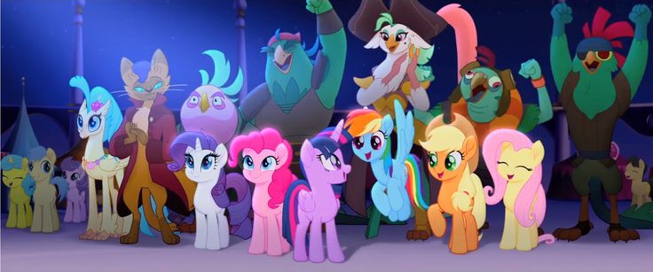 MLP THE MOVIE 2017 THE GANGS ALL HERE!! by KaijuATTACK877.deviantart.com on @DeviantArt