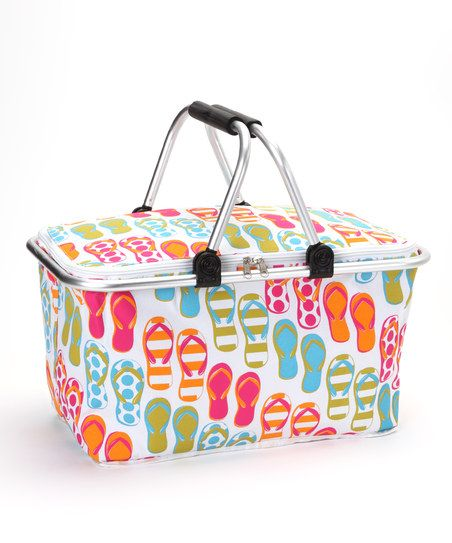 Flip-Flop Insulated Market Basket