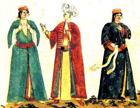 Ottoman Women's Clothing-Historical Overview-Part 1