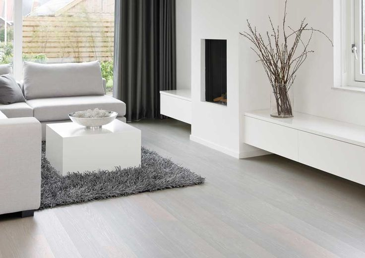 Off White And Grey Fumed Wood Floors | ... Of Light Wood Or Simulated Wood  Floors And What Are Their Shortcomings | Shore House | Pinterest | Woods,  ...