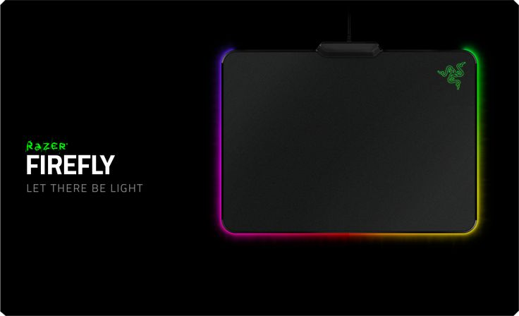 Features micro-textured surface, optimized surface coating, chroma customizable lighting effects, and a non-slip rubber base.
