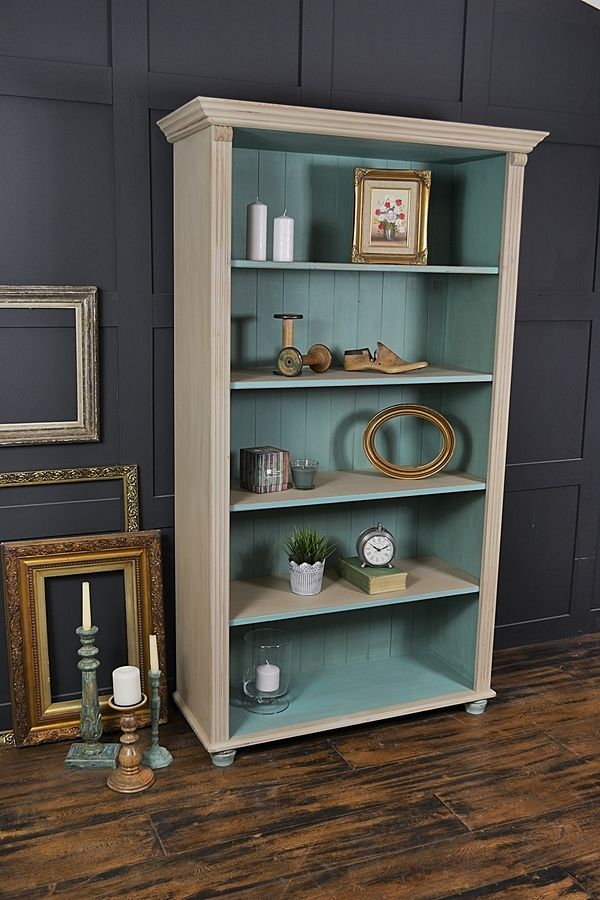 painting shelves ideasThe 25 best Pine bookcase ideas on Pinterest  Painted bookcases