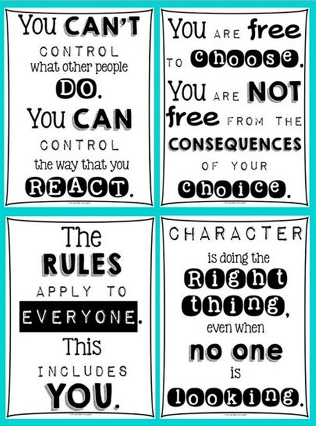 Classroom Attitude Posters - 27 Classroom Poster Sets: Free and Fantastic - Teach Junkie
