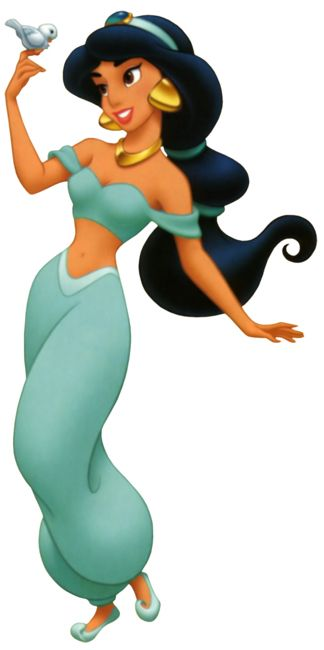 Day 2: favorite disney princess Jasmine!