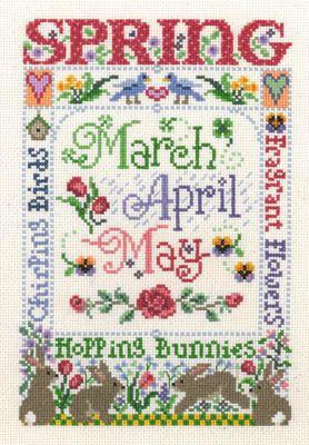 Spring Season - Cross Stitch Pattern