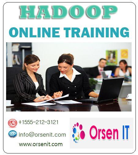 hadoop online training in usa,hadoop training